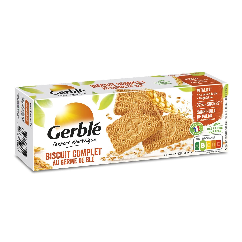 Biscuits complets germe de blé, Gerblé (210 g)