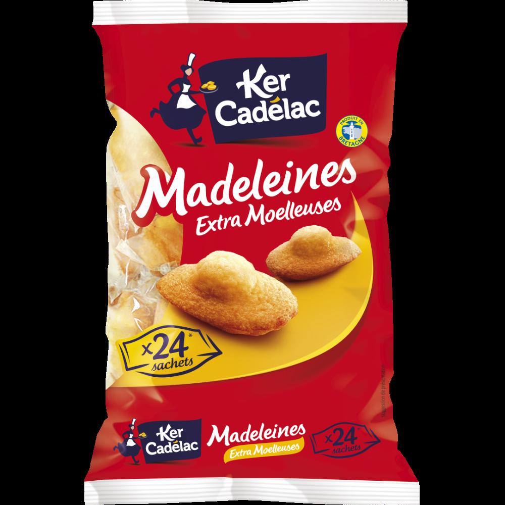 Madeleines extra moelleuses, Ker Cadelac (x 24, 600 g)