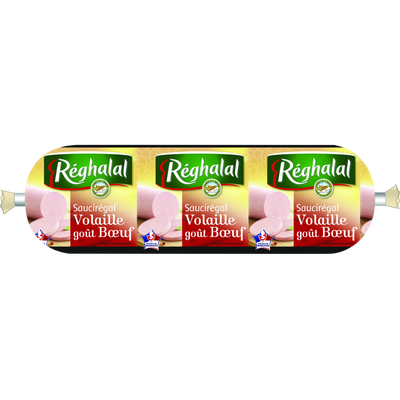Saucirégal de volaille goût boeuf Halal, Reghalal (230 g)