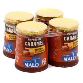 Emprésuré au caramel au beurre salé, Malo (4 x 125 g)