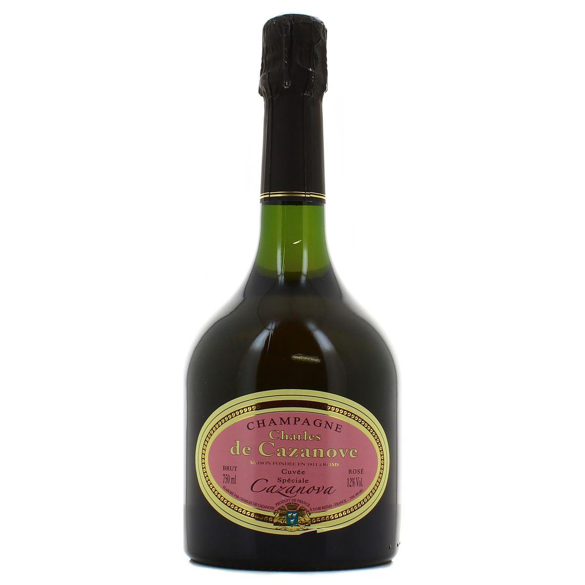 Champagne Rosé, Charles De Cazanove (75 cl)