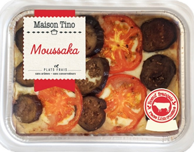 Moussaka, Maison Tino (800 g)