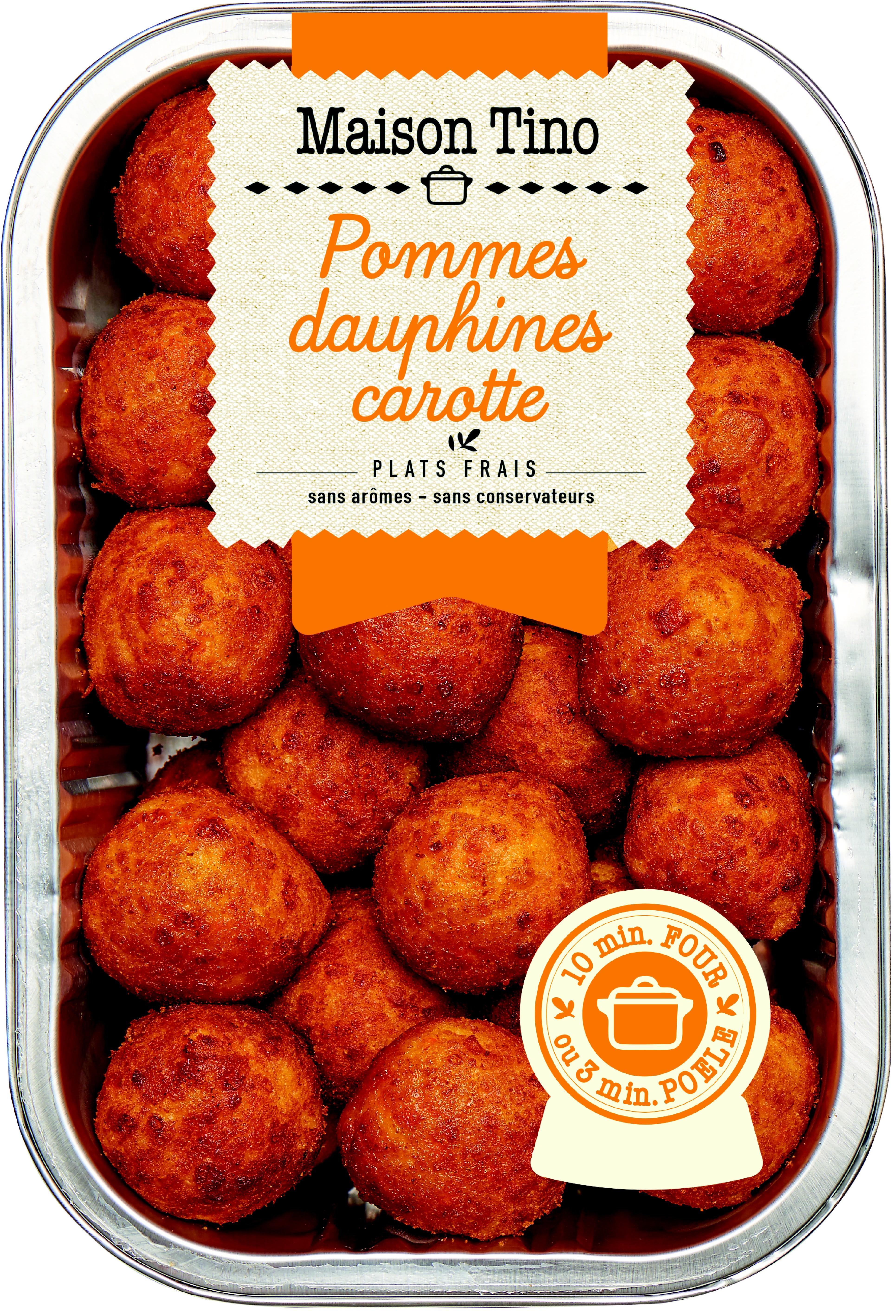 Pommes Dauphines Carottes, Maison Tino (500 g)
