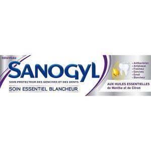Dentifrice Soin essentiel blancheur, Sanogyl (75 ml)