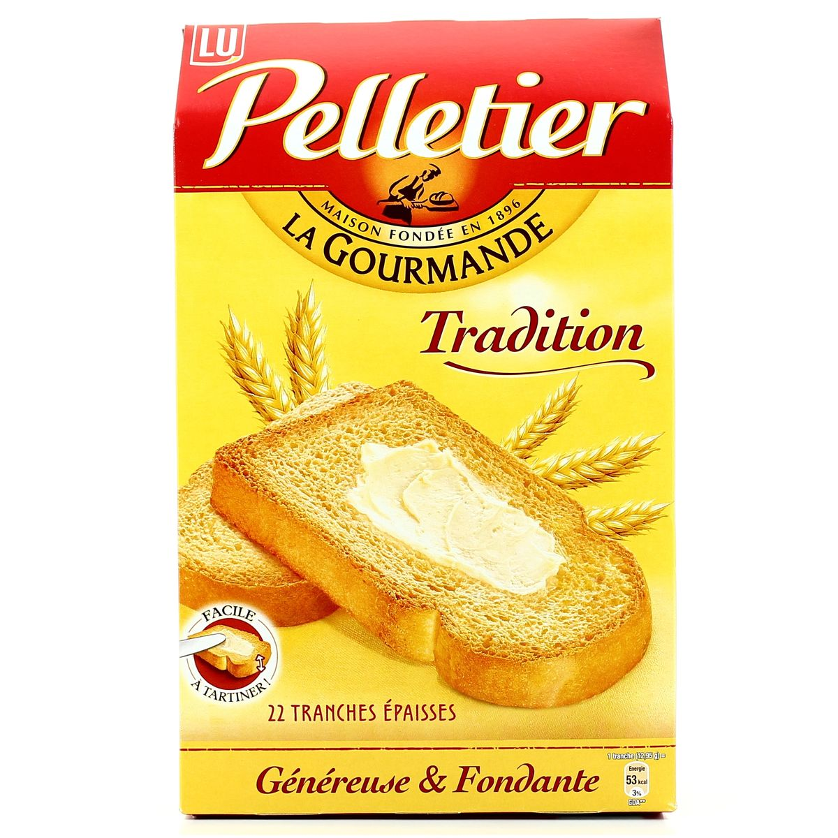 Biscottes gourmandes, Pelletier (285 g)