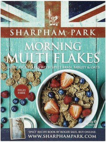 Céréales Morning Multi Flakes, Sharpham Park (375 g)