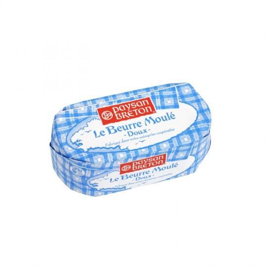 Beurre doux moulé, Paysan Breton (500 g)