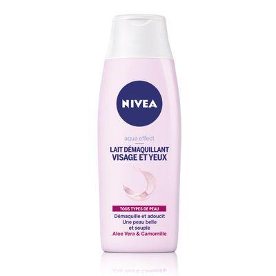 Lait démaquillant visage et yeux, Nivea (200 ml)