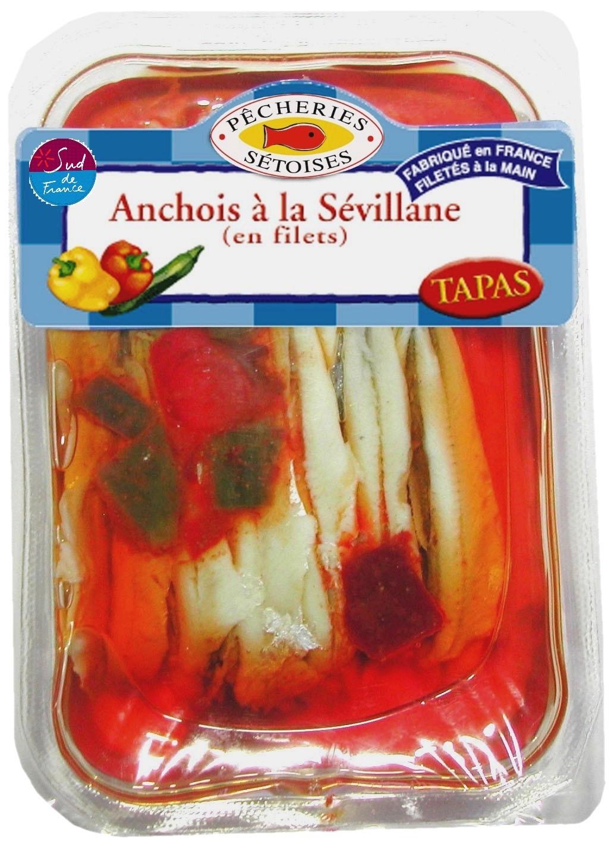 Anchois à la Sévillane, Pêcheries Sétoises (200 g)