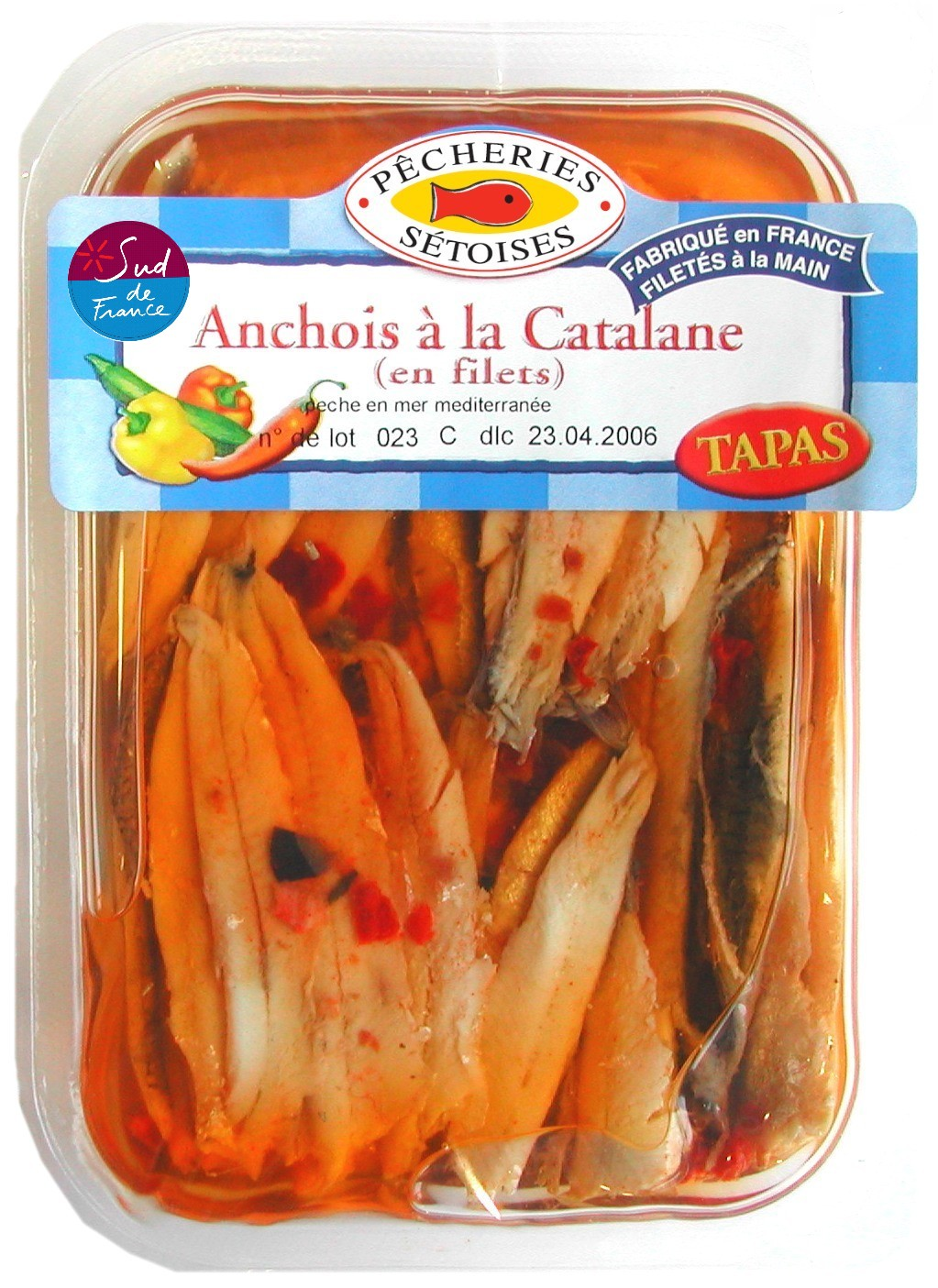 Anchois à la Catalane, Pêcheries Sétoises (200 g)