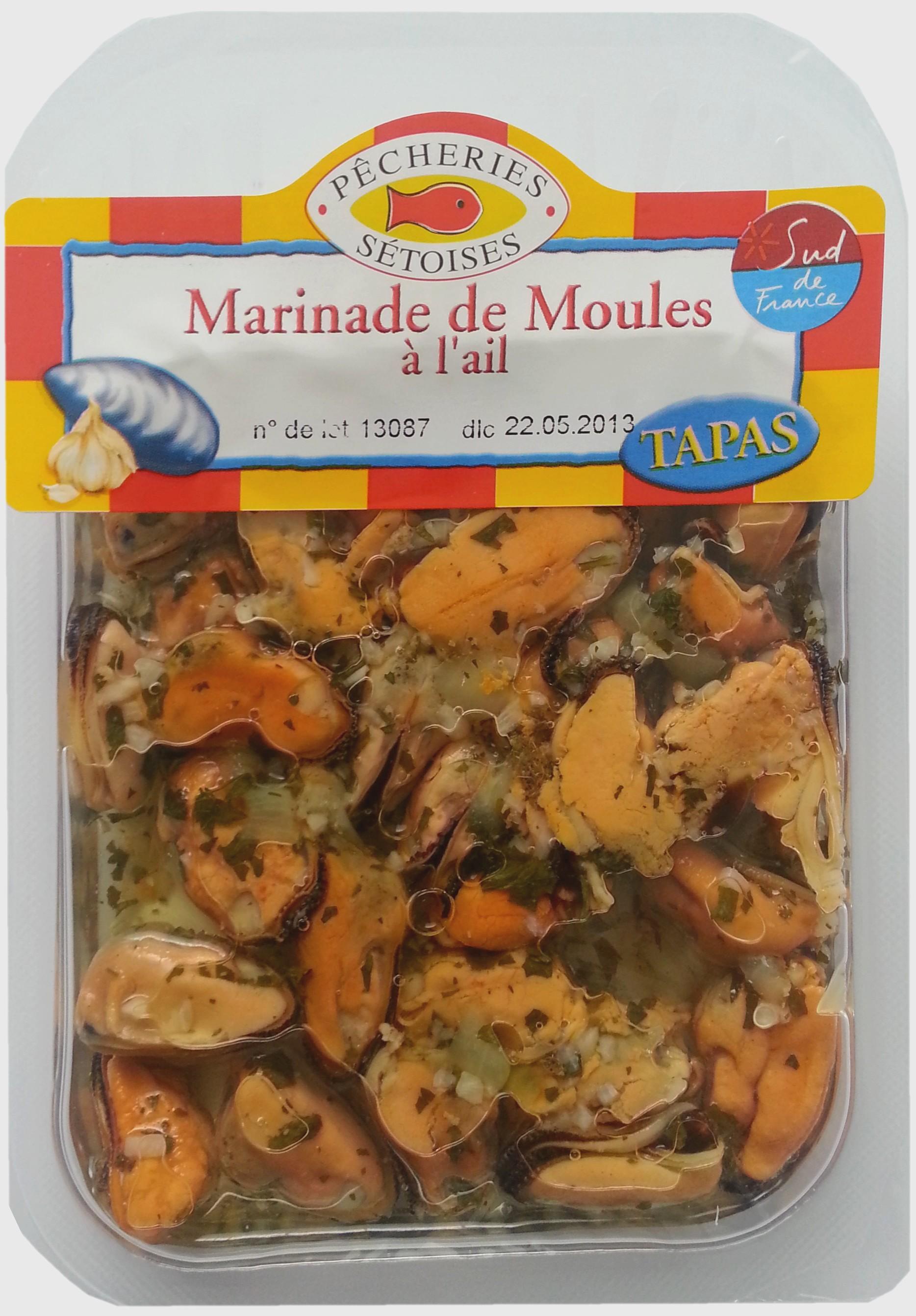 Moules à l'ail, Pêcherie Sétoise (150 g)