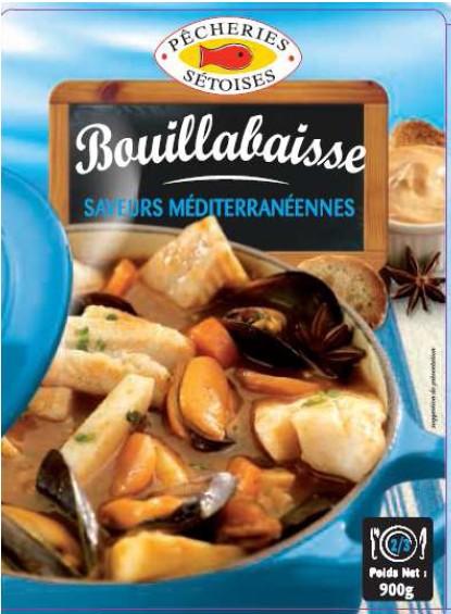 Bouillabaisse, Pêcheries Sétoises (900 g)