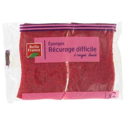 Eponge grattante Rouge, Belle France (x 2)