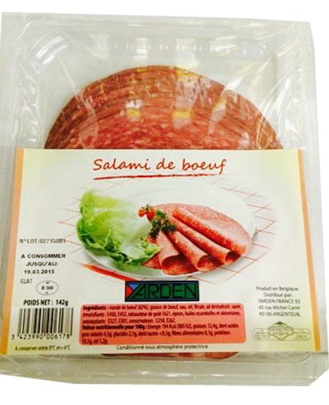 Salami de boeuf, Yarden (142 g)