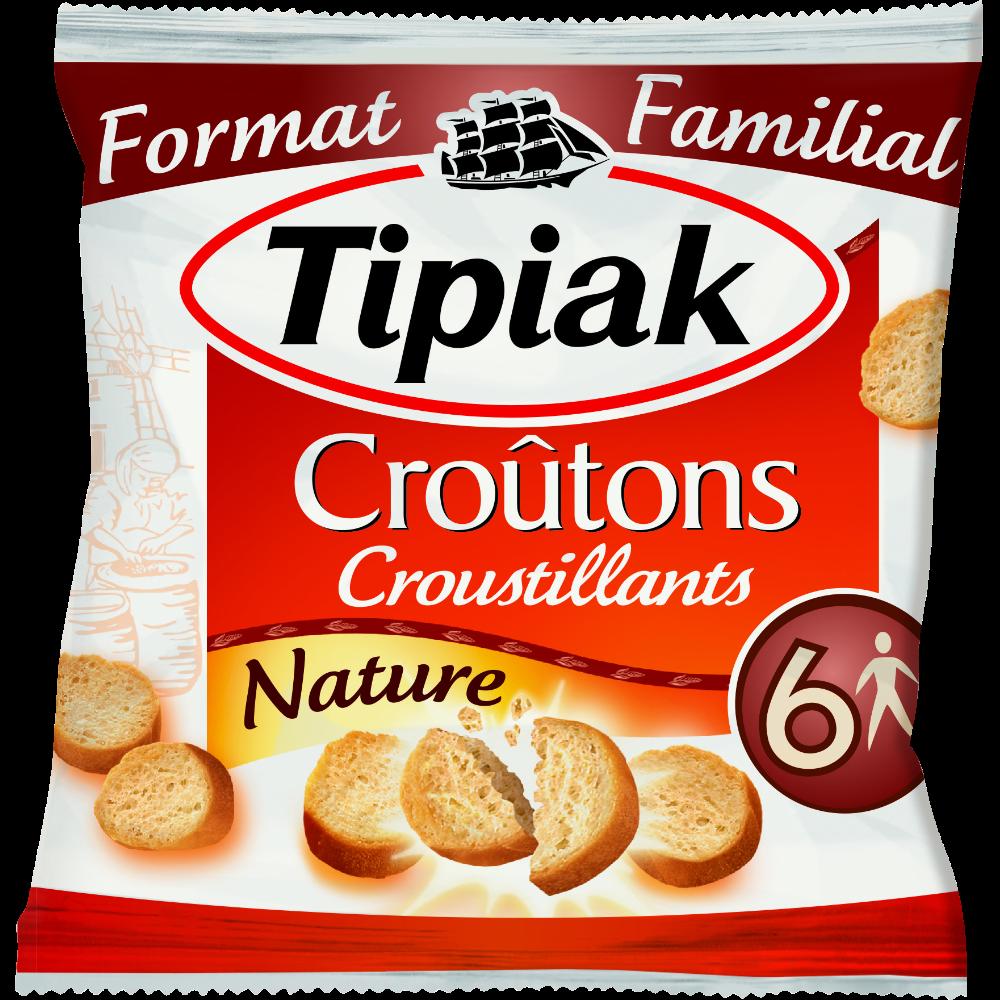 Croûtons nature, Tipiak (140 g)