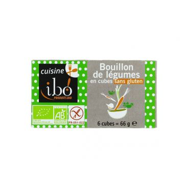 Bouillon de légumes sans gluten BIO, Ibo (66 g)