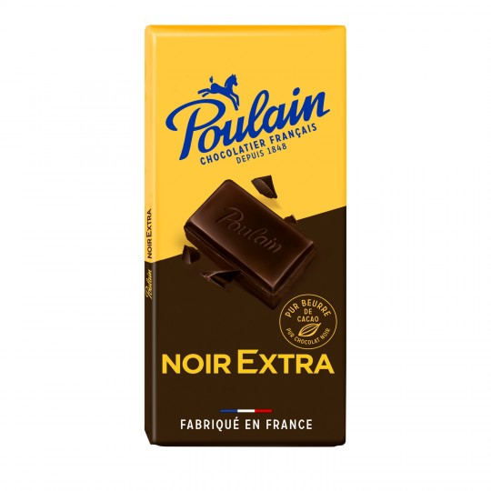 Chocolat noir extra, Poulain (200 g)