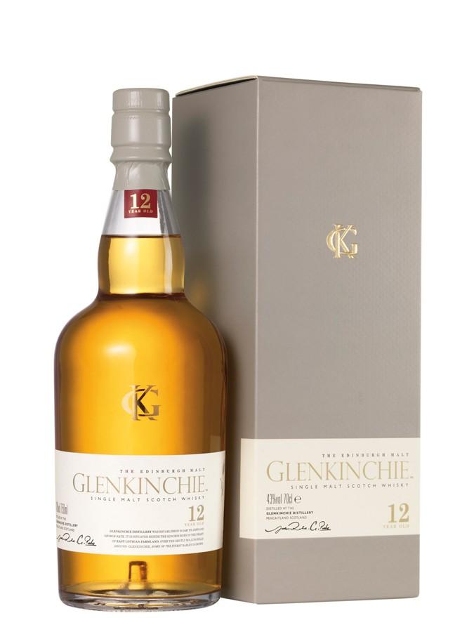Whisky Glenkinchie 12 ans d'âge (70 cl)