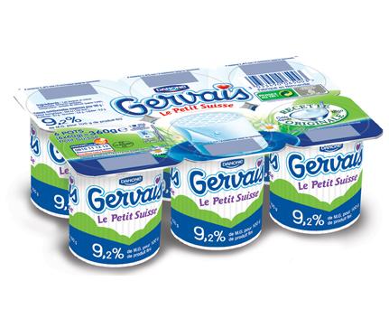 Petit suisse Gervais (6 x 60 g)