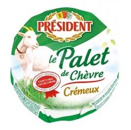 Palet au lait de chèvre crémeux, Président (120 g)