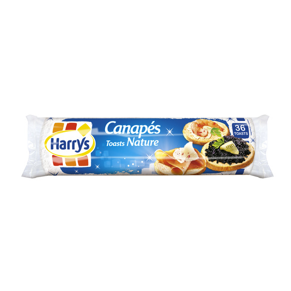 Toasts canapé natures, Jacquet (280 g)