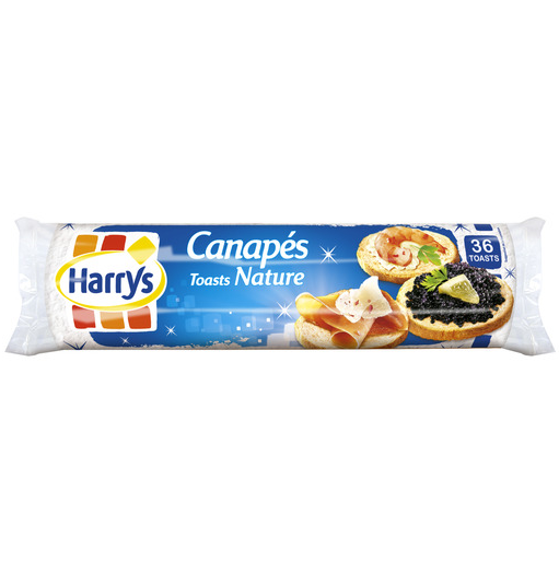 Toasts canapé natures, Jacquet (250 g)