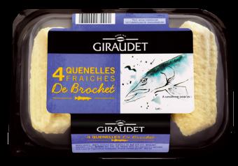 Quenelles brochet BIO, Giraudet (x 4, 320 g)
