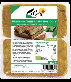 Filets de tofu à l'ail des ours, Taifun (x 2, 160 g)