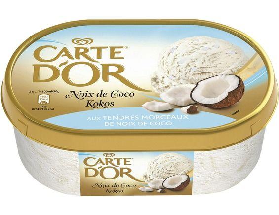 Glace Noix de Coco, Carte d'Or (1 L)