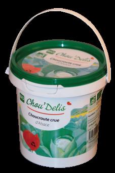 Choucroute crue BIO, Ferme Durr (1 kg)