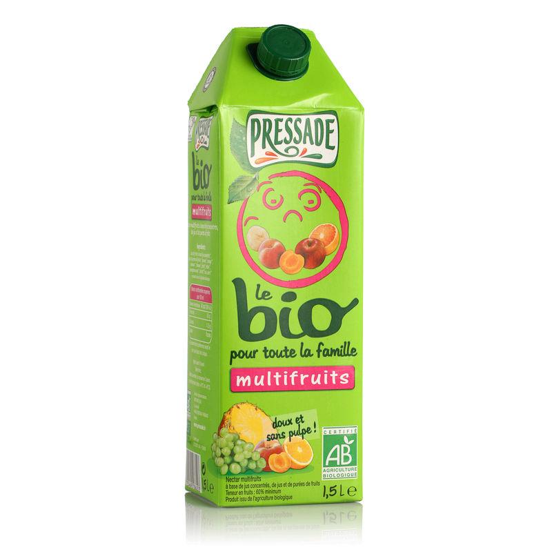 Nectar multifruits BIO, Pressade (1 L)