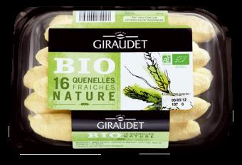 Quenelles nature BIO, Giraudet (320 g)