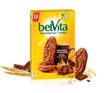 Petit déjeuner chocolat BelVita, Lu (400 g)