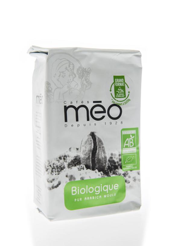 Café en grains BIO, Meo (500 g)
