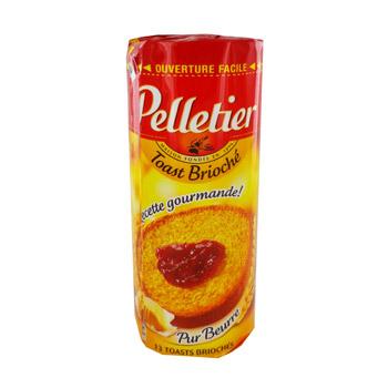 Toast Brioché rond, Pelletier (150 g)
