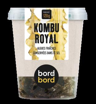 Kombu royal BIO, Bord à bord (120 g)
