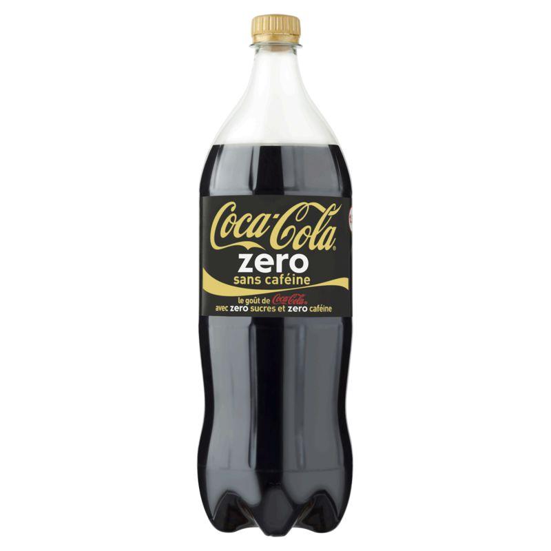Coca-Cola Zéro sans caféine (1,25 L)