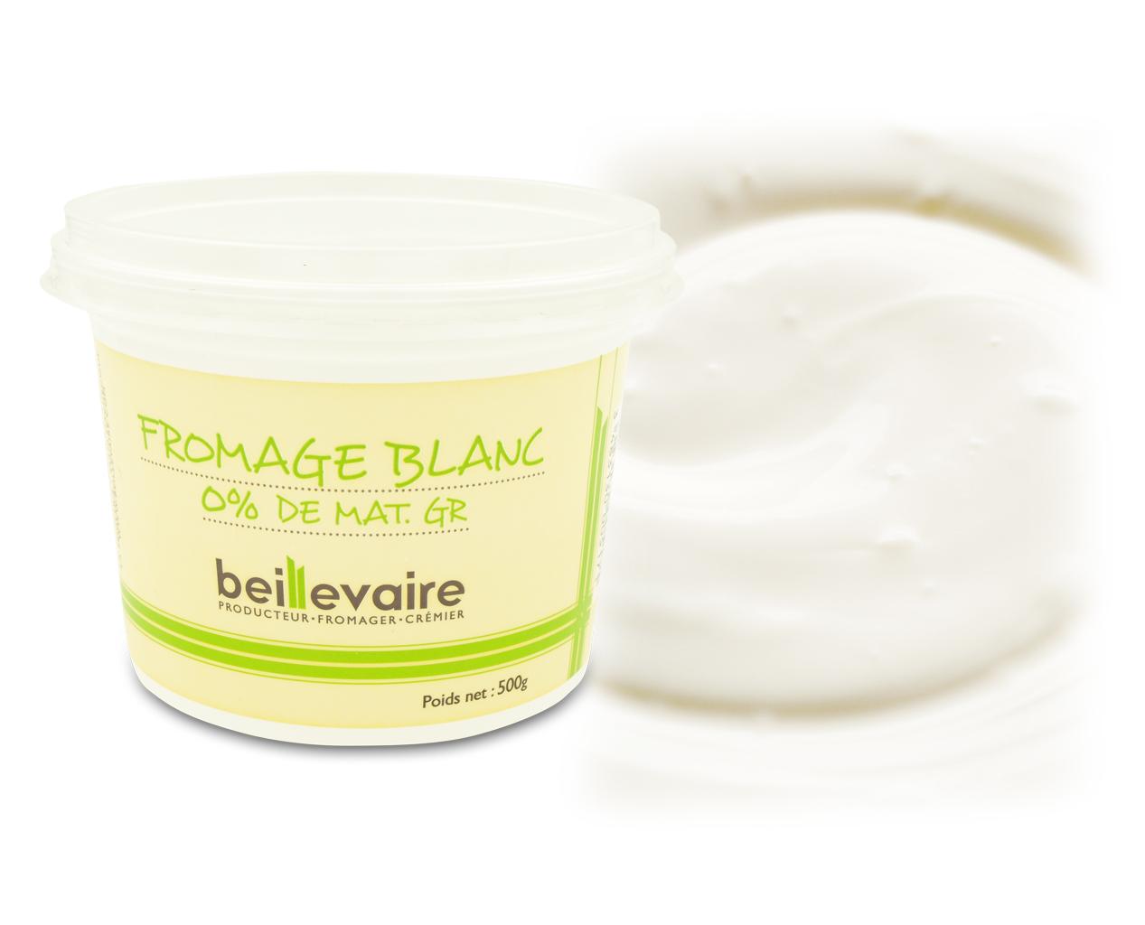 Fromage blanc 0%, Beillevaire (500 g)