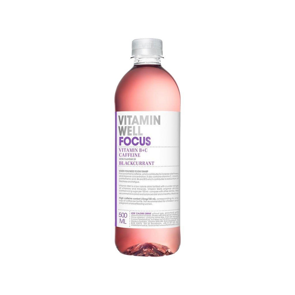 Vitamin Well Focus - cassis (50 cl)