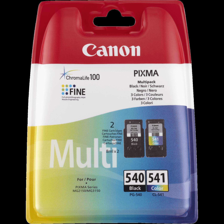 Cartouche Canon PG540 CL541  Multi pack