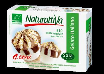 Cône au soja x 4, Naturattiva (300 g)