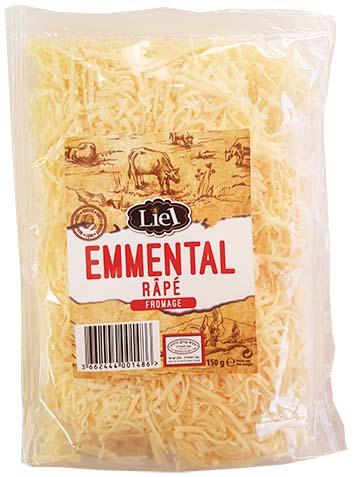 Emmental rapé, Liel (150 g)