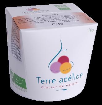 Crème glacée au café, Terre Adélice (500 ml)