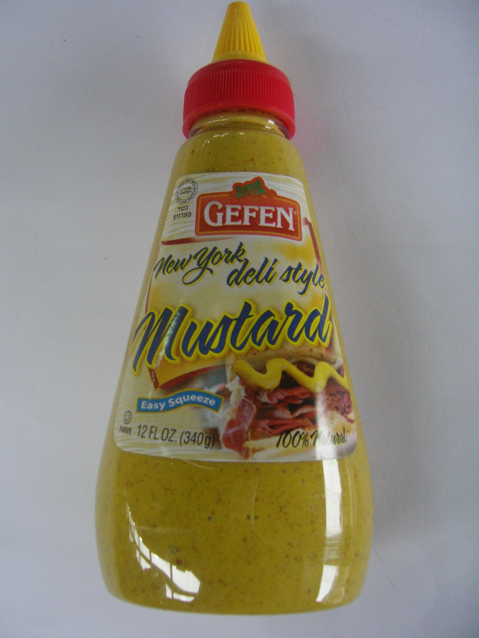 Moutarde Deli Style, Gefen (240 g)
