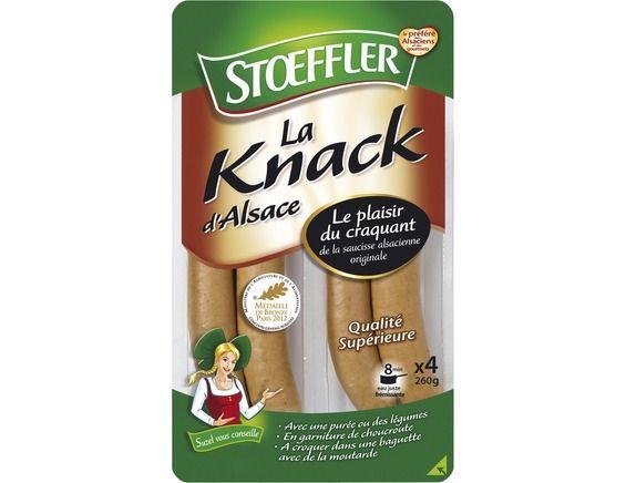 Knacks d'Alsace, Stoeffler (x 4, 260 g)