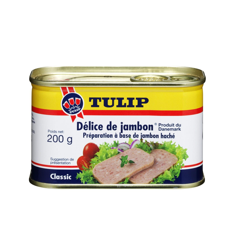 Pâté Délice de jambon haché, Tulip (200 g)