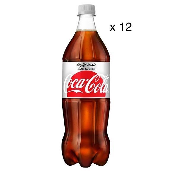 Coca-Cola Light (12 x 1 L)