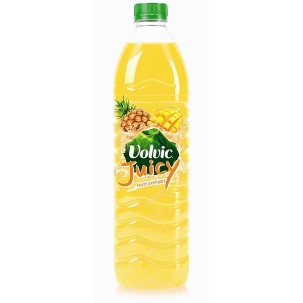 Volvic Juicy aux fruits exotiques (1,5 L)