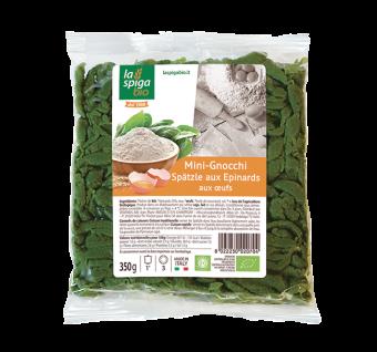 Mini-gnocchi Spätzle aux épinards BIO, La Spiga Bio (350 g)