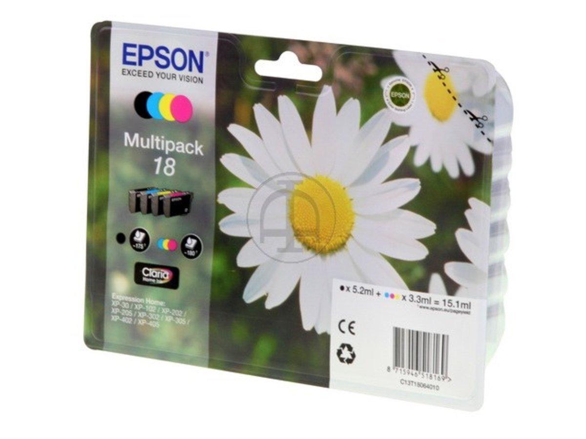 Cartouche Epson 18  Multi pack